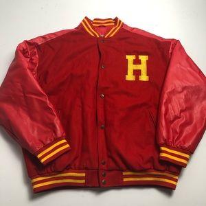 Vintage Hoosiers Hickory Basketball Varsity Jacket